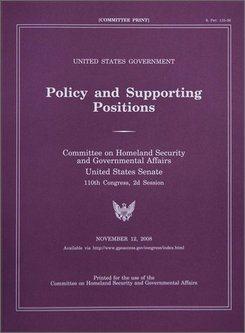 The Plum Book | Government Jobs Coaching | CareerPro Plus