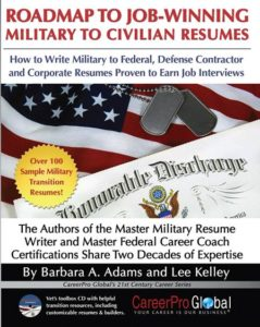 military experience to civilian resume writing book careerproplus